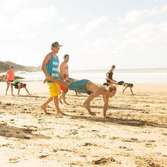 Our good buddies at Surf Yoga Beer having a blast on the beaches of Nicaragua. Knockarounds sunglasses and wheelbarrows...just our style. #knockaround