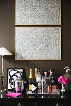 Paloma Contreras Design | Domino | Bar Area | Abstract Art