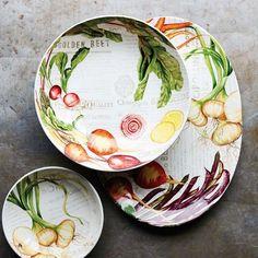 Farmers' Market Dinnerware Collection #williamssonoma