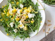 Avocado-Mango Salat mit Rucola