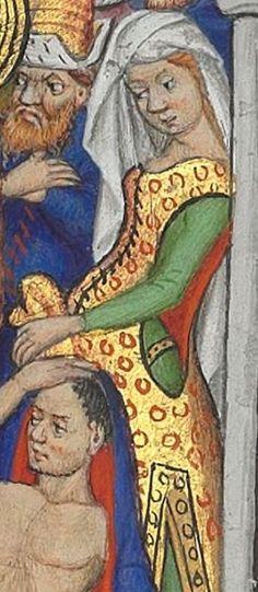 Horae ad usum romanum. Date d'édition : 1401-1500 Latin 1156B Folio 154r