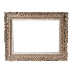 Vintage French Ornate Frame Circa 1940 #Chairish