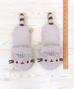 Pusheen the Cat plush slippers
