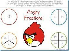 Angry Bird printables. My students would love these because they love angry birds!!