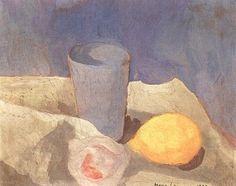 Marie Laurencin (1883-1956) Nature morte (1936)