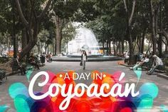 If you're into the bohemian vibe, you must visit Coyoacán, in Mexico City. Its bazaars, museums and restaurants will make you fall in love with our culture. Mexico City Restaurants, Houston Restaurants, Cool Places To Visit, Places To Go, Visit Mexico, México City, Over The Rainbow, Mexico Travel, Vacation Trips