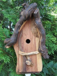 Interesting looking birdhouse-fun to enjoy looking at how creative others are