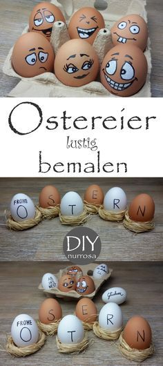 DIY Painting Easter Eggs No time or desire to dye eggs?, DIY Painting Easter Eggs No time or desire to dye eggs? Grab a pen and off you go Easter is traditionally colorful Easter eggs on the beau. Diy For Kids, Crafts For Kids, Spring Decoration, Diy Y Manualidades, Navidad Diy, Easter Colors, Coloring Easter Eggs, Egg Art, Egg Decorating