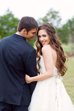 Soft Waves, Wedding Hair & Beauty Photos by Christa Elyce Photography