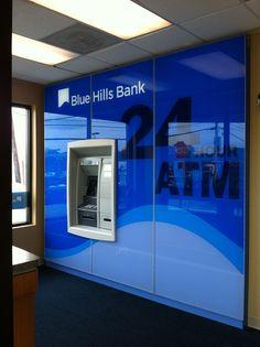Blue Hills Bank Signature ATM Surround Exterior Wall Tiles, Exterior Siding Colors, Exterior Color Schemes, Exterior Signage, Exterior Paint Colors For House, Paint Colors For Home, Exterior Design, Dulux Feature Wall, Exterior Paint Sherwin Williams
