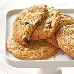 Giant Chocolate Chunk Cookies Recipe | MyRecipes.com