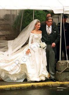 Prince and Princess Von Fursternberg. The bride was the former Alexandra Miller.