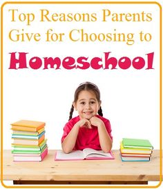 Top Reasons for Homeschooling #homeschool