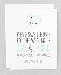 Big Day Save the Date Card  Hello Lucky