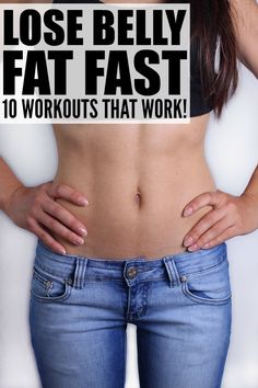 There was a time in my life when having a flat stomach was as easy as breathing, but pregnancy and childbirth changes your body, and my abs just aren't as flat as they once were. Thankfully, this collection of at-home workouts has taught me how to lose belly fat fast. Who knew getting six pack abs could be so easy?!