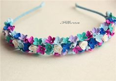 deco clay Polymer Clay Flowers, Ceramic Flowers, Polymer Clay Art, Polymer Clay Jewelry, Floral Headbands, How To Make Earrings, Polymers, Cold Porcelain, Clay Crafts