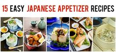 Here are 15 easy Japanese appetizer recipes you can make at home for your family or to entertain party, including spicy edamame and gyoza.