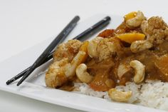 Mango Chicken.  This recipe is bursting with wonderful flavours and marries sweet with savoury very successfully. http://www.countrygrocer.com/recipe/mango-chicken/