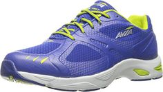 AVIA Women's Swift Trail Running Shoe,Blue Ribbon/Lime Shock/Chrome Silver,9.5 M US *** Find out more details @