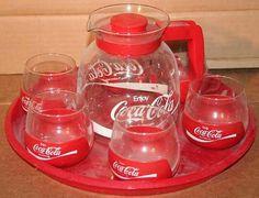 Coke hot pot with glasses