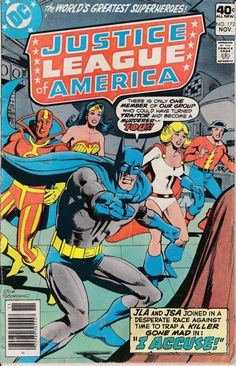 Justice League of America 1960 1st Series 172 by ViewObscura, $1.00