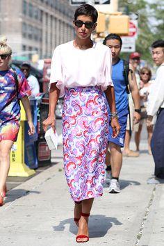 Street Style New York Fashion Week 2014