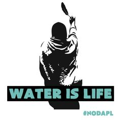 Image in solidarity with the water protectors at Standing Rock. NO DAPL. No pipelines on Indigenous ...
