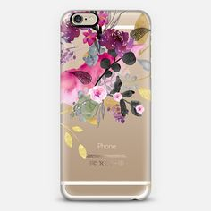 @casetify sets your Instagrams free! Get your customize Instagram phone case at casetify.com! #CustomCase Custom Phone Case   iPhone 6   Casetify   Graphics   Painting   Transparent   Monika Strigel