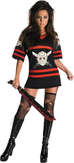 Adult Miss Voorhees Costume - Party City