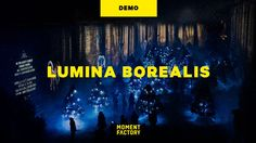 "This is ""Lumina Borealis, Where winter's