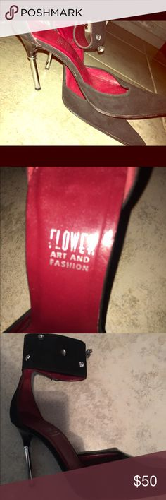 Pointed High Heels These red souled pointed high heels are perfect for going out or to dress up with jeans only worn a few times.✨ Flower Art & Fashion Shoes Heels