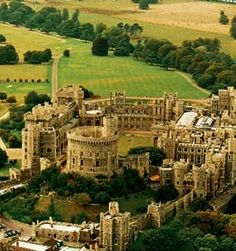 Windsor Castle is a medieval castle and royal residence in Windsor in the English county of Berkshire, notable for its long association with the British royal family and for its architecture. Th