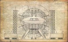 Jupiter 2 Spaceship Blueprints   DaVinci Jupiter 2