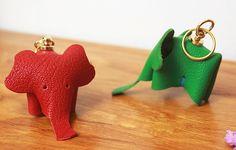Elephant Keychain, Elephants, 3d, Earrings, Leather, Jewelry, Ear Rings, Stud Earrings, Jewlery
