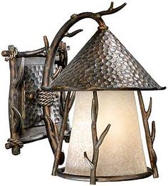 """Woodland 9"""" Outdoor Wall Sconce 