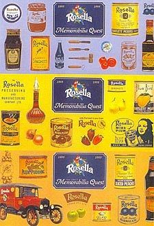 Rosella Preserves Nostalgic Postcard from Sarah J Home Decor