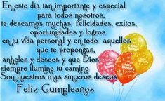 Animated Gif by raychen-rodriguez Happy Birthday In Spanish, Happy Birthday Music, Happy Birthday Ecard, Happy Birthday Pictures, Sister Birthday, Birthday Wishes, Bday Cards, Home Interior, Delicious Desserts