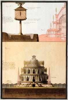 это архитектура, которую нереально воплотить. В 18 веке во Франции была целая компания таких товарищей-мегаломанов, которые чертили нереальные проекты. Леду и…