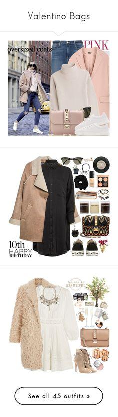 """Valentino Bags"" by chocolatepumma ❤ liked on Polyvore featuring Oris, Frame, DKNY, Vanessa Seward, CÉLINE, Valentino, rag & bone, MANGO, Topshop and Converse"