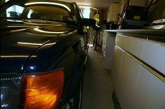 Left front light in my garage