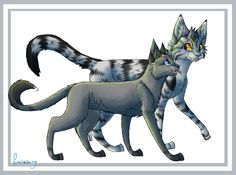 """Bumblestripe:""""I've met lots of girls in my life.....but, none of them have been as sweet & beautiful as you, Dovewing...."""""""