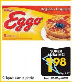 Coupons et Circulaires: 0,98$ Eggo