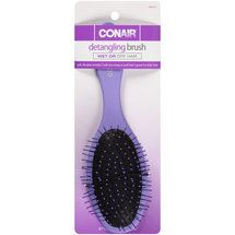 Conair Detangling Brush. $5 [walmart] - JH: I bought this a couple months ago because of a Pinterest recommendation (I can't find the original pin!)  It has seriously changed my life.  It does wonders on my lion mane hair.