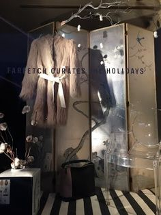 Farfetch Currates: The Holiday, shoppable windown display at Mcmullen