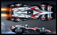 Mach 5 concept from that awful Speed Racer movie.