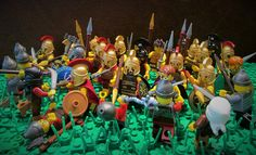 The Battle of Plataea by Hunter Erickson - Hunter makes his second appearance on this blog with another MOC based on a historic battle. This time it is The Battle of Plataea. Here's how Hunter describes it: The Battle of Plataea was the final land battle between the United Greek city States and the Persian Empire during the Greco-Persian wars. The battle wasn't just a huge victory for the Greeks but for the survival of western civilization. #LEGO #Minifigure #BrickWarriors #MOC #LEGOMOC…