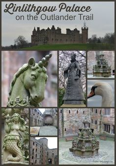 Outlander Trail Linlithgow Palace where some of the prison scenes were filmed.  Also of interest to those finding out more about Mary Queen of Scots and Scottish history.
