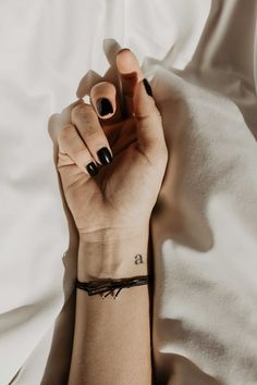 small tattoos - letter a and three dots on finger tattoos, tattoos sleeve, tattoos sleeve women, flo Diy Tattoo, Tattoo Fonts, 3 Dot Tattoo, Niece Tattoo, Tattoo Lettering Styles, Mini Tattoos, Baby Tattoos, Finger Tattoos, Small Tattoos On Finger