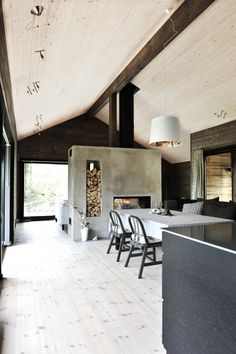 Modern Home Decor Interior Design Decor Interior Design, Interior Decorating, Plywood Interior, Dining Room Lighting, Small House Plans, Modern House Design, Luxury Living, Home And Living, Interior Inspiration