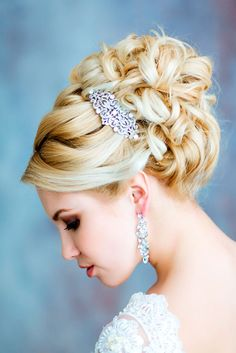 wedding hairstyles medium hair 4
